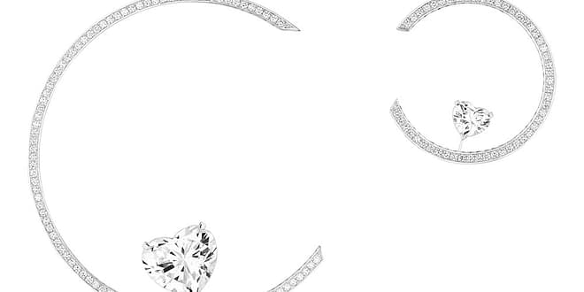 TAKE A MOMENT TO DISCOVER MESSIKA'S HEART HIGH JEWELRY HOOPS