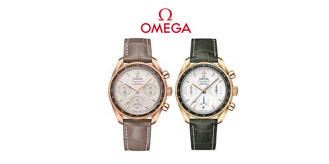 OMEGA adds full gold models to The Speedmaster 38